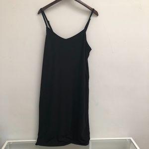 Black Torrid spaghetti strap tank dress size 1X